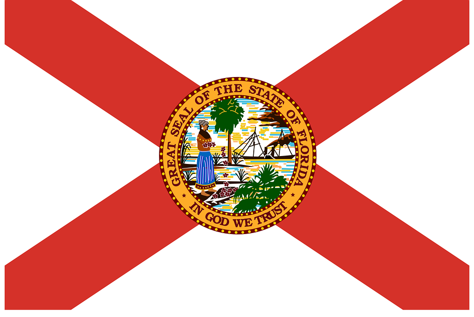 Flag of Florida since we are considering moving to Hallandale Beach, FL
