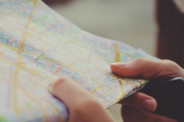 A map, the kind you'll use to find the perfect place for moving your start-up to Asia!