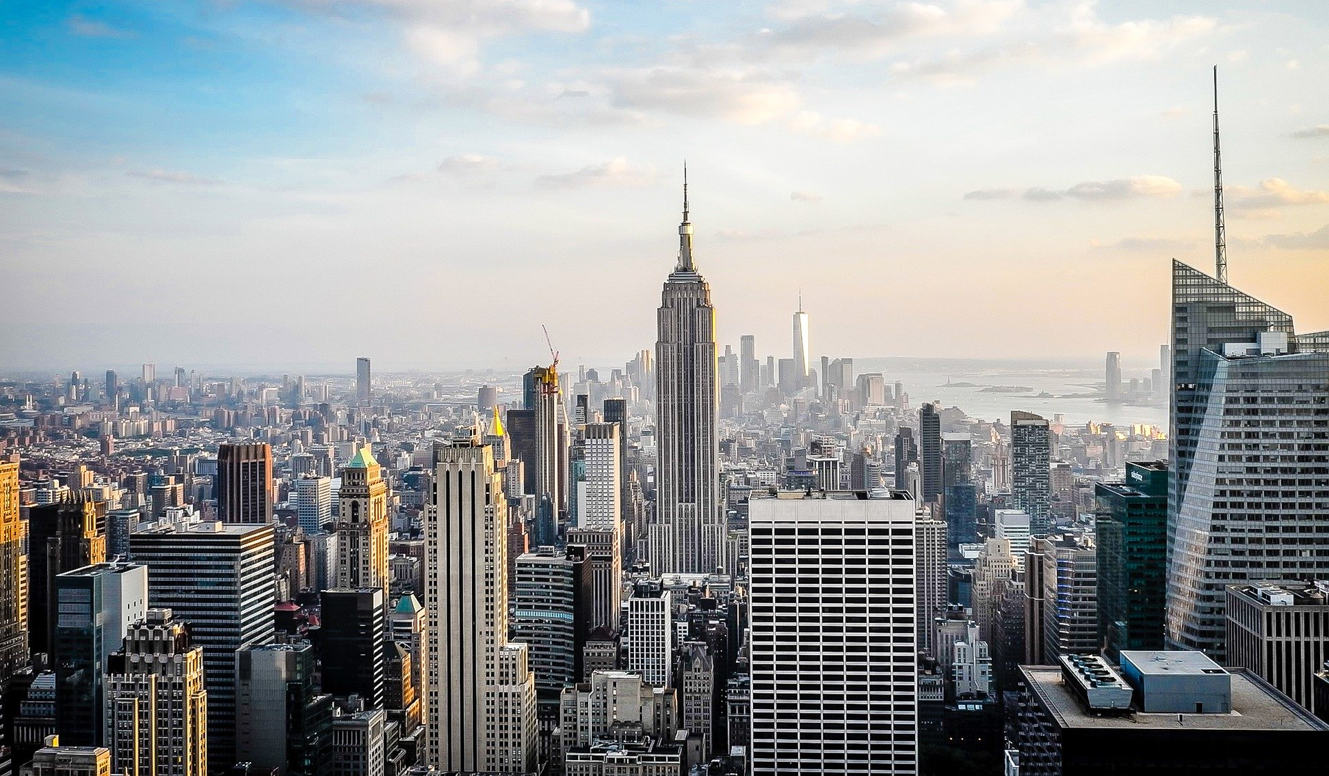 A view of New York.