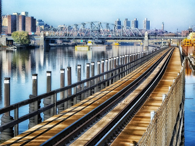 The Bronx still one of the hottest neighborhoods in New York from a bridge.